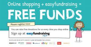 Image advertising Easyfundraising.co.uk